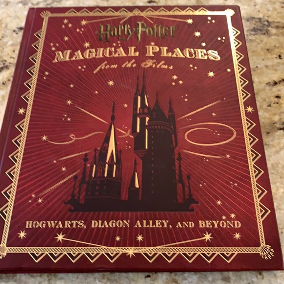 Harry Potter magical places book